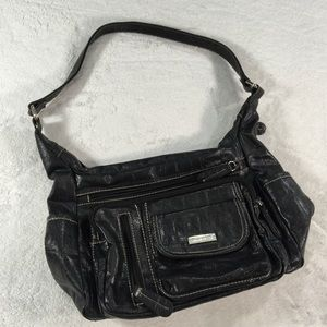 c9388ac1cbf7 Black Laura Scott shoulder bag lots of storage